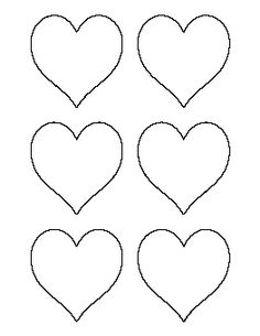 1 inch star pattern. Use the printable outline for crafts