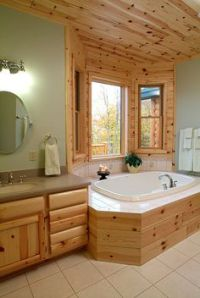 Knotty Pine Paneling (tongue & groove) | WoodHaven Log ...