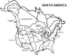 Native American cultures were influenced by their natural