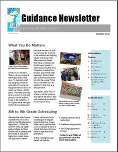 1000 Images About Counselor Newsletter Ideas On Pinterest