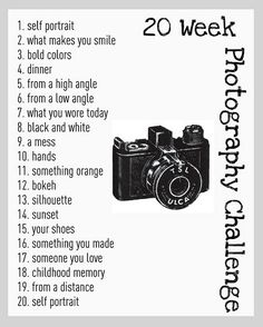 Digital Photo Scavenger Hunt- Website is elementary, but a