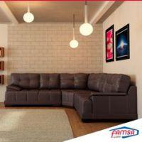 Salas FAMSA on Pinterest - Living Room Sets, Dark Brown ...