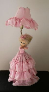 Doll lamp on Pinterest | Half Dolls, Lamps and Dolls