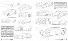 How to Draw a Car in Perspective from Top View
