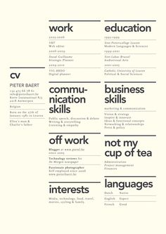1000 Images About Well Designed Resumes On Pinterest