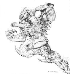 SPLICERS Metamorph Armored by ~ChuckWalton on deviantART