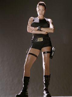 Lara Croft Hairstyle Angelina Jolie Tomb Raider Angelina