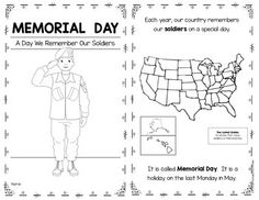 FREE Memorial Day Word Search for early elementary