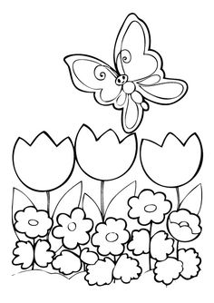 Fleur, fleurs, coloriage fleur, coloriages fleurs, jardin