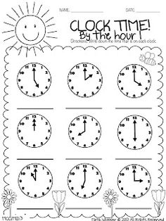 1000+ ideas about Math Clock on Pinterest