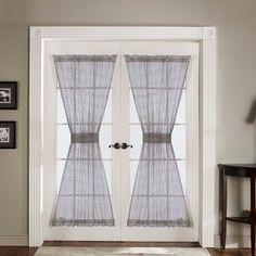 magnetic door curtain rod