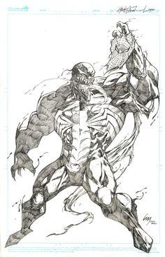 Venom and Spiderman on Pinterest