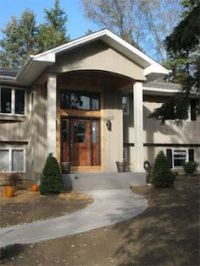 Bi level exterior remodel!! on Pinterest | Split Entry ...