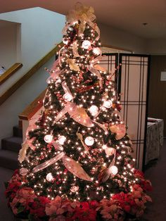 Christmas Decorations On Pinterest Pink Christmas