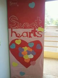 Classroom Valentine's door decoration....our students are ...