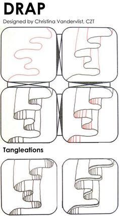 1000+ ideas about Easy Zentangle Patterns on Pinterest