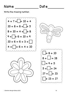 First grade worksheets, First grade and Worksheets on