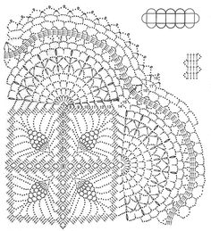 Circles, The row and Crochet lace on Pinterest