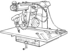 DELTA RAM-Type Radial Arm Drill Press Operating & Parts