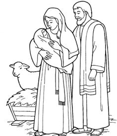 The start of Jesus' public ministry. Jesus and Mary at the