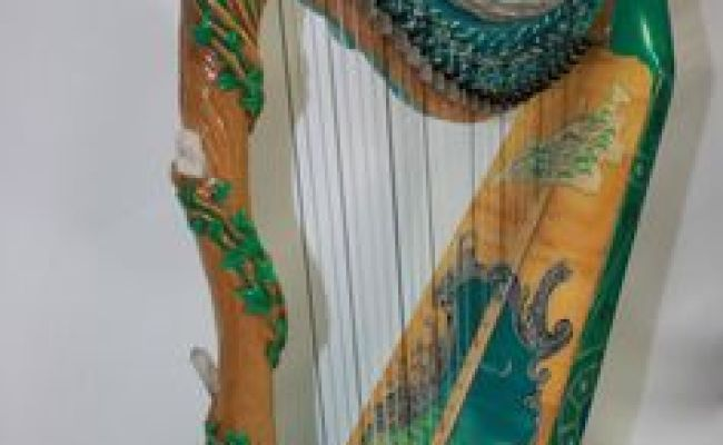 This Improved Irish Harp Was Invented Made By John Egan