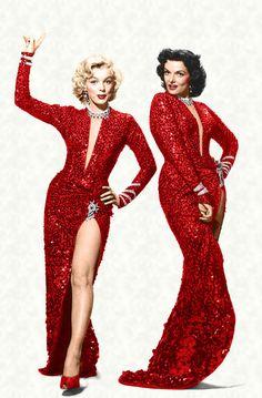 Jane Russell op Pinterest - Marilyn Monroe 1962 en Milton Greene
