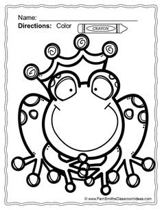 the frog king coloring pages for printable storybook