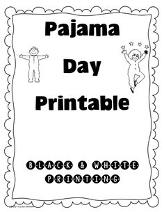 Fancy Nancy Pajama Day work page graph and key, updated