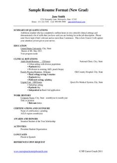 new grad nurse cover letter example  Nursing Cover Letters  Resume help  Pinterest  Cover