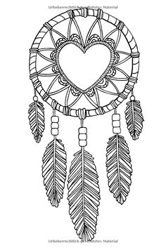 1000+ images about DreamCatcher Coloring Pages for Adults