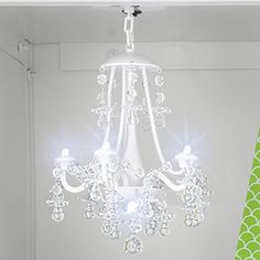 Lockerlookz White Beaded Locker Chandelier 1 Piece Best Products For Pinterest Other Colors And 72