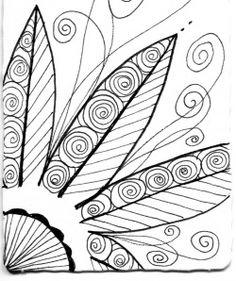 Celebrate Possibilities!: Zentangle Challenge #43