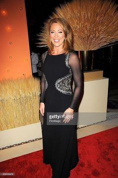 Brooke Baldwin leather dress  Celebrities  Pinterest
