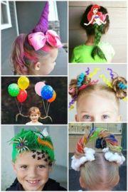 ideas crazy hair day school