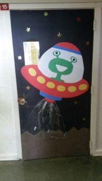The aliens, Classroom door and Aliens on Pinterest