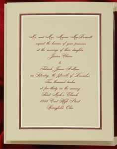 1000 images about Red  Burgundy Wedding Invitations on