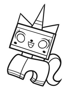 The Brick Show: The LEGO Movie Coloring Pages : Free