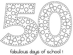 50th Day of School and LETTER PARTY!
