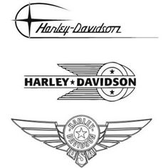 1000+ images about LOGOS HARLEY-DAVIDSON on Pinterest