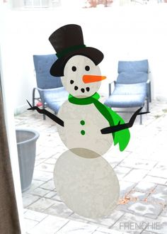 Winter window cling designs created by Lia Griffith. Make