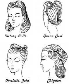 50s Hairstyles Ideas To Look Classically Beautiful Pretty Makeup