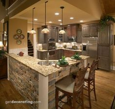 average cost of new kitchen cabinets table with high chairs 1000+ images about l shaped island on pinterest ...