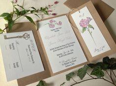 My Secret Garden Theme Invitation! Wedding Decor Pinterest