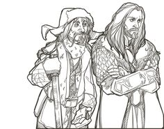 1000+ images about Hobbit Colouring Pages on Pinterest