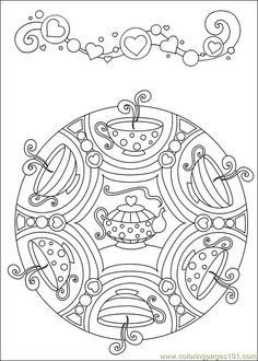 1000+ images about Coloring pages for big people on