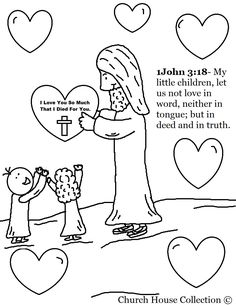 ~Valentine's Day poem for Jesus~ Kids can read the poem