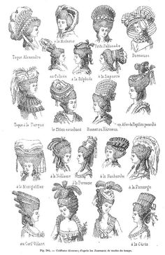 1000+ images about 18th century hair and makeup. on