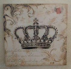Crown Wall Art