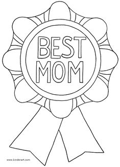 Free Mothers Day Coloring Pages Images & Pictures to Draw