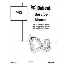 Bobcat 337 341 G Series Parts Manual Excavator